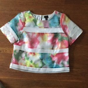 High Fashion Crop Dress Shirt